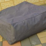 Outdoor Beanbag Square Footstool