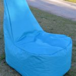 Tall chair bean bag