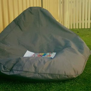 oval beanbag