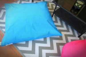 Outdoor Beanbags 1m x 1m cushion